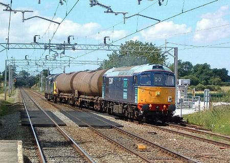 33207 + 37608 at Acton Bridge, . photo D.Robinson
